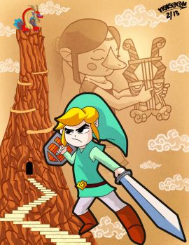 Legend of Zelda: Wind Waker by Whatsome