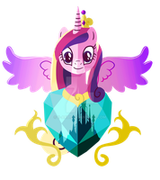 Princess of Love: Cadance by II-Art