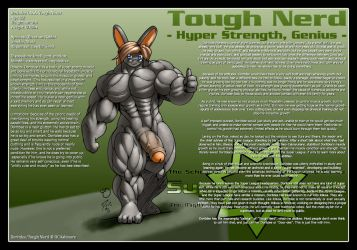 Super League - Tough Nerd by DocWolph