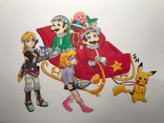 Nintendo Switchmas by SketchHappily