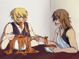 Pasghetti by elpisofhope