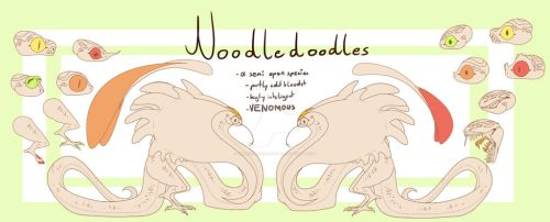 Noodle doodles by HollowsDeviantart