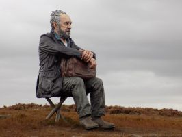 The Man On The Moors by dramaticpeanut