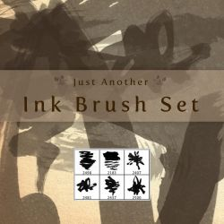 just another ink brush set by JudasKiss4