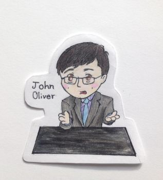 John Oliver by lostblood22