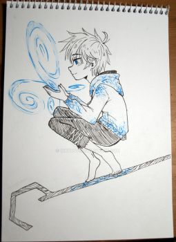 Little snowball Jack Frost by InkyDoc