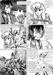 Saint Seiya #034 - The duty of a Knight by Gugaaa