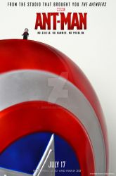 Lego Ant-Man Poster - Shield by Jbressi