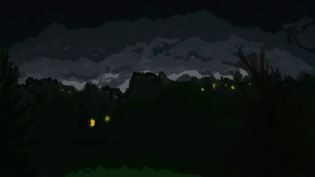 night time from my window by Nox-Dracoria