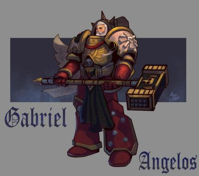 Gabriel Angelos by androsm