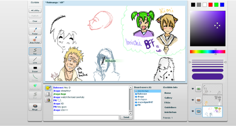 iScribble part 2 by Imichi