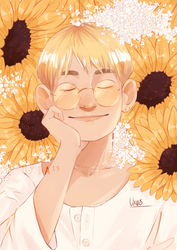 Sunflowers by Uxia15