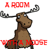 A ROOM WITH A MOOSE by converse-kitten