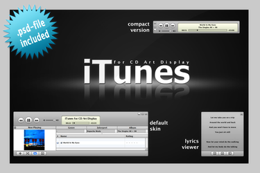 iTunes for CAD by eos8 by WinampSkinners