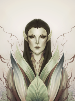 Lady of the Forest by Alanica