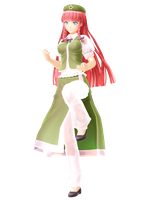 MMD Touhou - Montecore styled Hong Meiling DL by OrientalCrimsonMMD