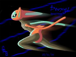 Deoxys - Speed Form by fab-wpg
