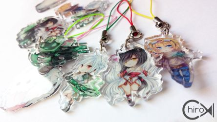 [LoL] Acrylic charms by Chiroyo