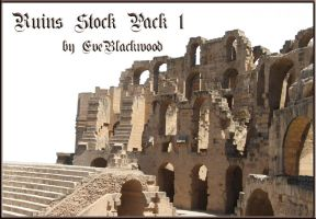 Roman_ruins_stock_pack1 by EveBlackwood
