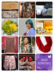 The Year in Sewing 2015 by HimeGabi