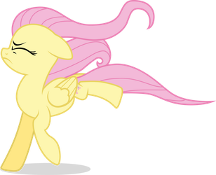 Hurricane Fluttershy - Body Blown by TomFraggle