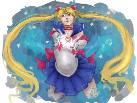 Sailor Moon by Motteh