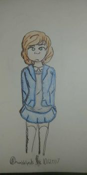extremely inaccurate and terrible heather fan art  by mumblelynds
