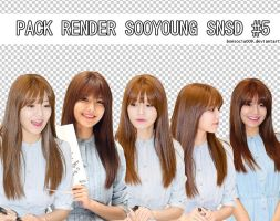 [PACK RENDER] SOOYOUNG SNSD #5 by bonsociu009