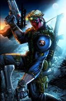 GRIFTER- Colors! by SaviorsSon