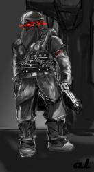 Helghast Commander by SirPomPom
