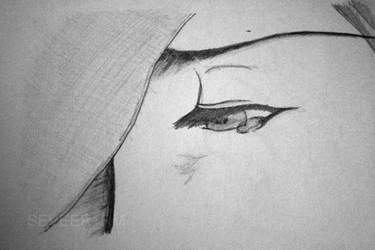 Crying Woman sketch by Seveer-rM