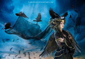 Queen of ravens by Lubov2001