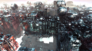 Antigravity City III by banner4