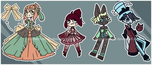(OPEN DISCOUNT) Tiny Adopt Batch by RottenRiceball