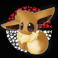 here have a shitty eevee by OMGHAPPYFACE