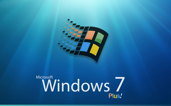 Windows 7 Plus bootscreen by orthuga
