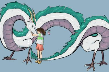 Spirited Away Print by TheLittleArtist