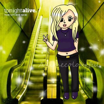 Tonight Alive-Jenna-The Other Side by Animecolourful