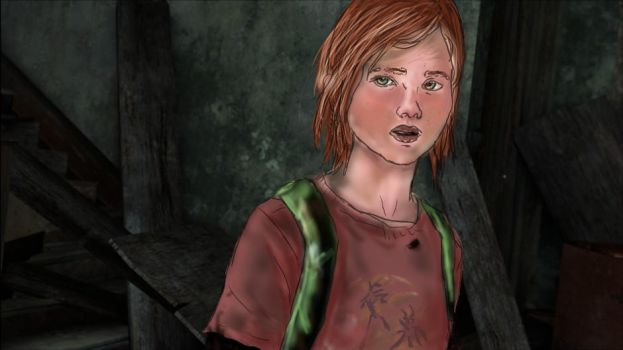 Ellie - Last of Us - Traceover by XxxAyakixxX