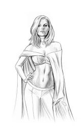 Emma Frost by jasonpal