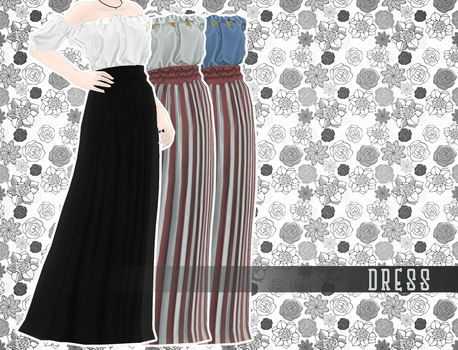 [MMD] dress [download] by captainA1coho1