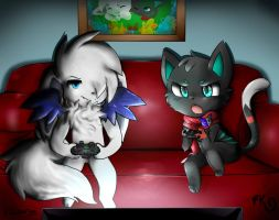 Art Collab with Xcourge by Hideaki-FV2