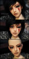 Face-up+tattoo+scars: SOOM Chalco - 2 by asainemuri