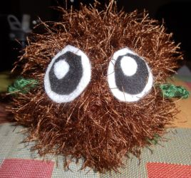 Kuriboh Amigurumi by yellow-jester-kitty