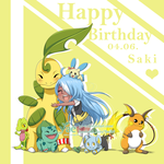 [PKMN] Happy Birthday babeh {3 by Ya-e