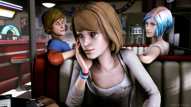 Life Is Strange - At the Diner by SSchar