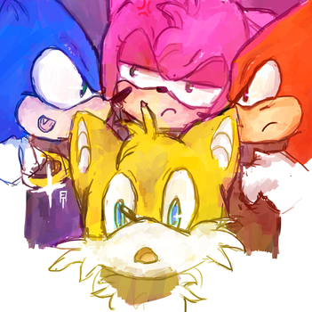 These four fools in color by ego-m