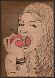 Apple Eaters. by Schlammer