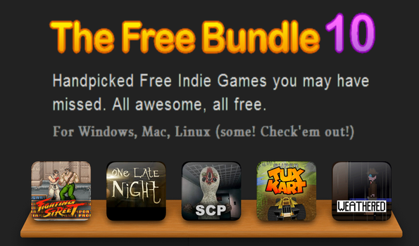 Fighting Street on  The Free Bundle website! by SEEProduction