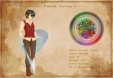 Character Sheet - Daniel Sorres by AG-Publishing